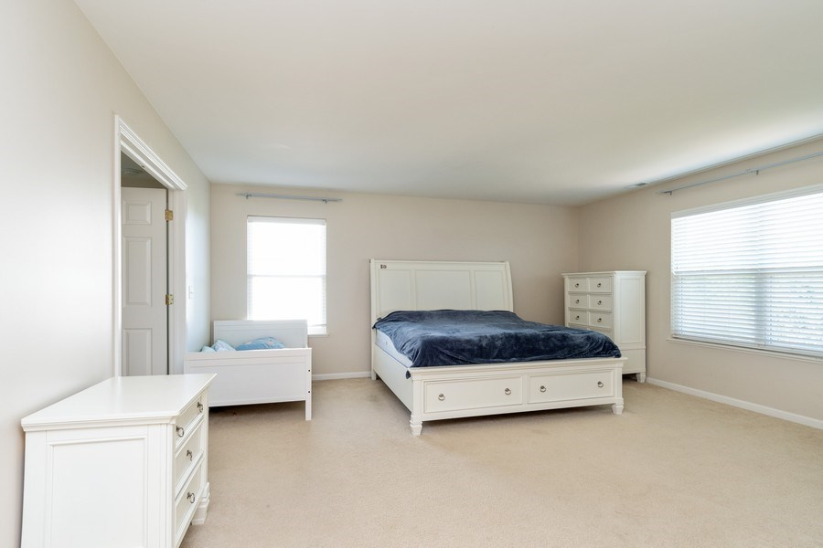 Real Estate Photography - 1834 Heather, Bolingbrook, IL, 60490 - Master Bedroom