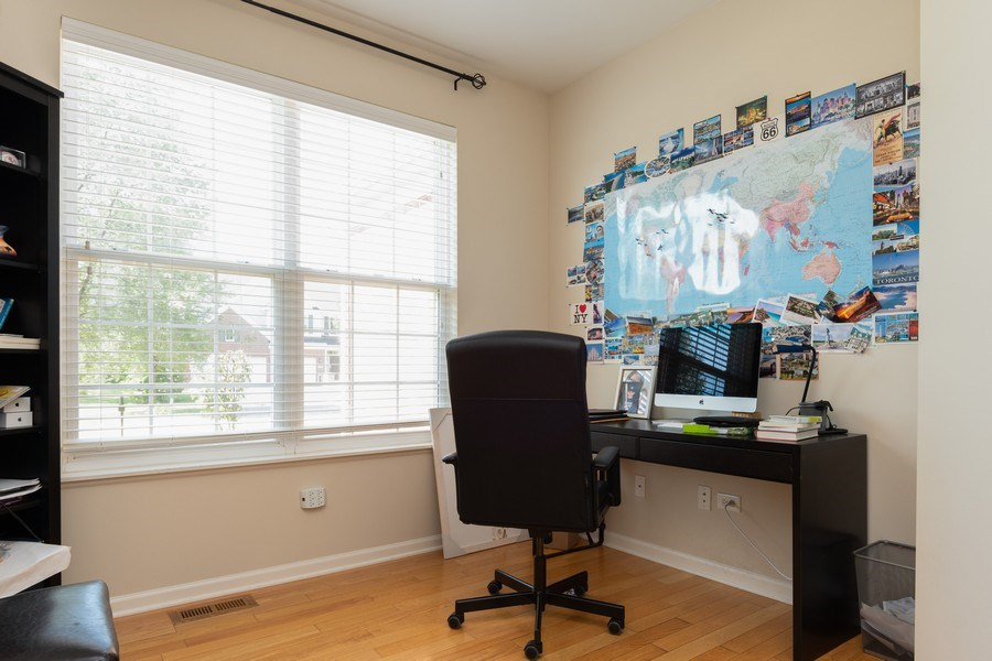 Real Estate Photography - 1834 Heather, Bolingbrook, IL, 60490 - Office