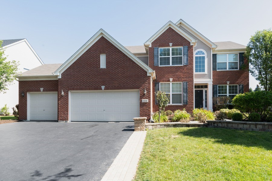 Real Estate Photography - 1834 Heather, Bolingbrook, IL, 60490 - Front View