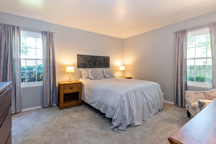 Real Estate Photography - 806 Spruce Court, Streamwood, IL, 60107 - Master Bedroom