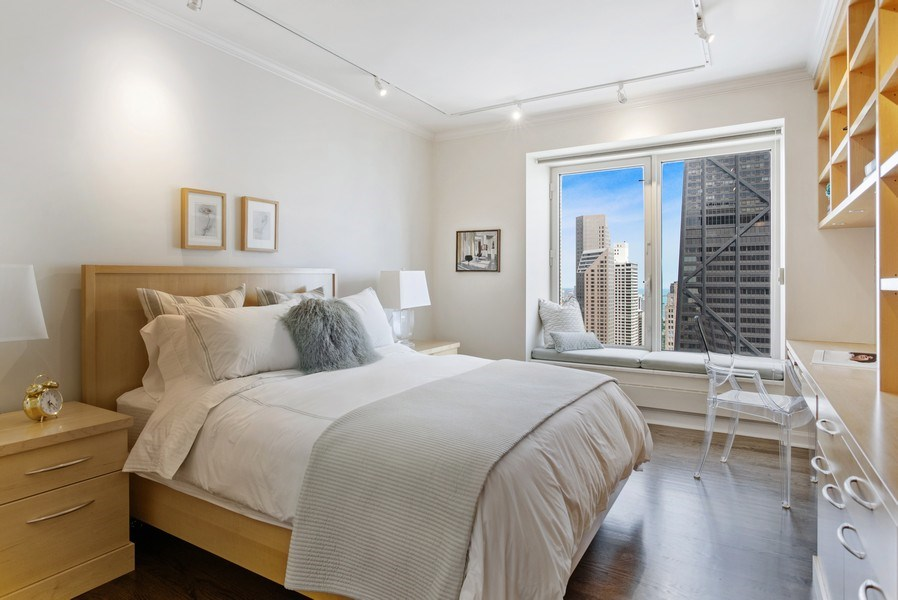 Real Estate Photography - 161 E. CHICAGO Avenue, Unit 37A, Chicago, IL, 60611 - 2nd Bedroom