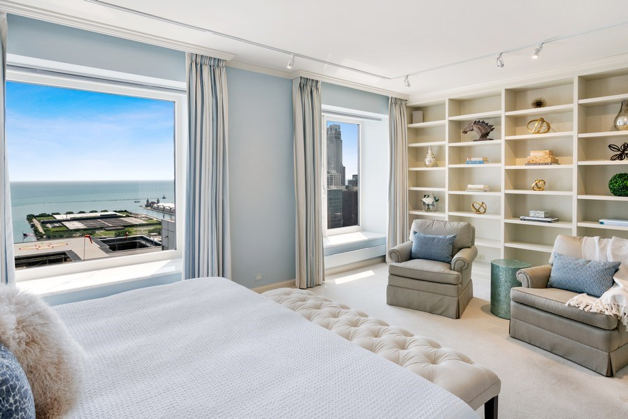 Real Estate Photography - 161 E. CHICAGO Avenue, Unit 37A, Chicago, IL, 60611 - Master Bedroom