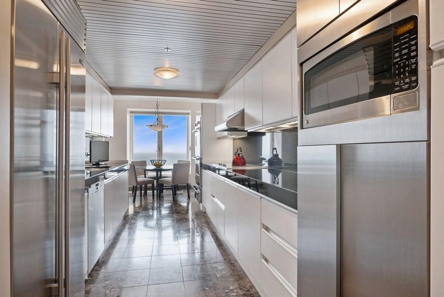 Real Estate Photography - 161 E. CHICAGO Avenue, Unit 37A, Chicago, IL, 60611 - Kitchen