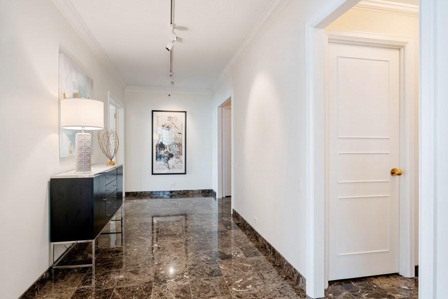 Real Estate Photography - 161 E. CHICAGO Avenue, Unit 37A, Chicago, IL, 60611 - Hallway