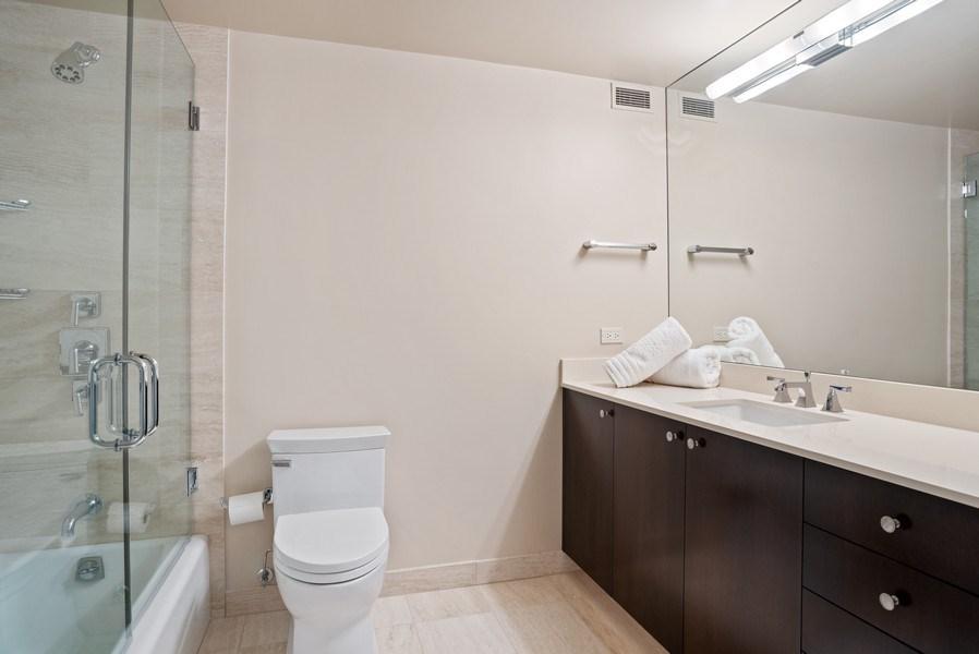 Real Estate Photography - 161 E. CHICAGO Avenue, Unit 37A, Chicago, IL, 60611 - Bathroom