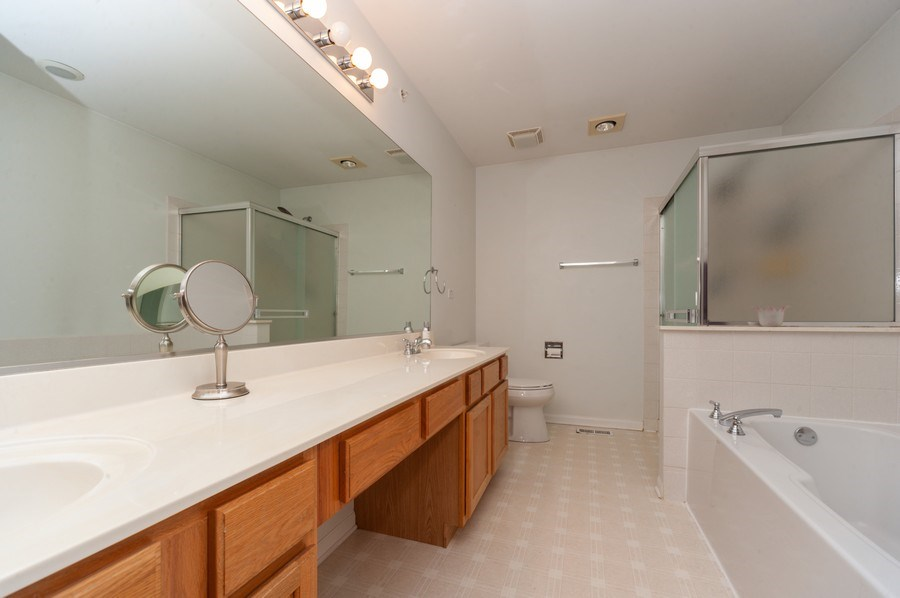 Real Estate Photography - 2748 N. Greenwood Avenue, Arlington Heights, IL, 60004 - Master Bathroom