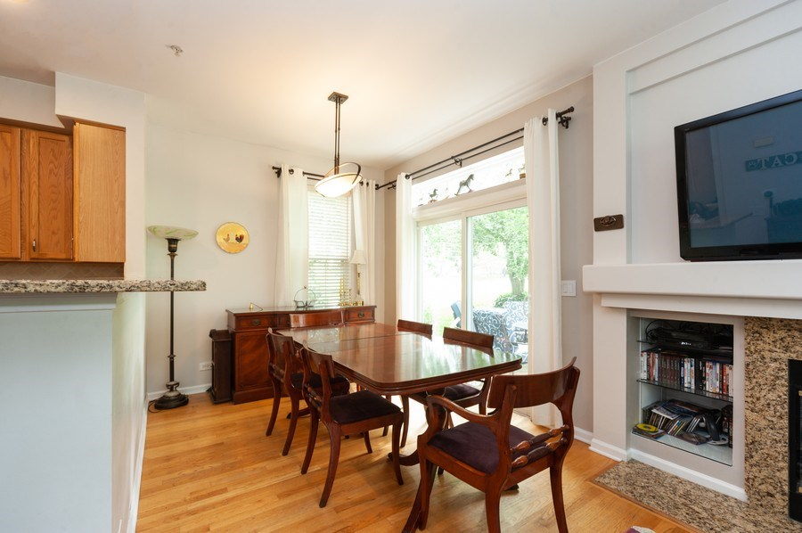 Real Estate Photography - 2748 N. Greenwood Avenue, Arlington Heights, IL, 60004 - Dining Room