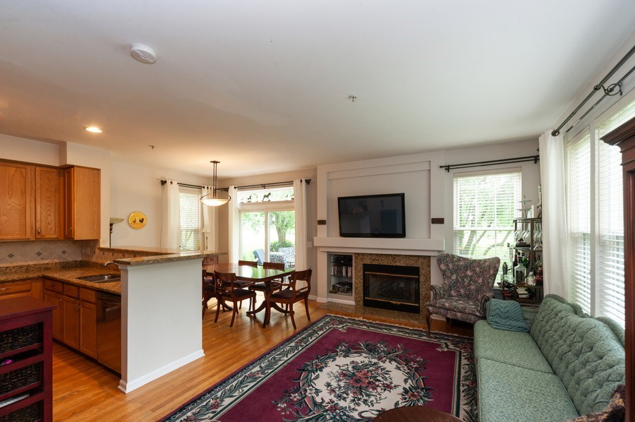 Real Estate Photography - 2748 N. Greenwood Avenue, Arlington Heights, IL, 60004 - Living Room / Dining Room