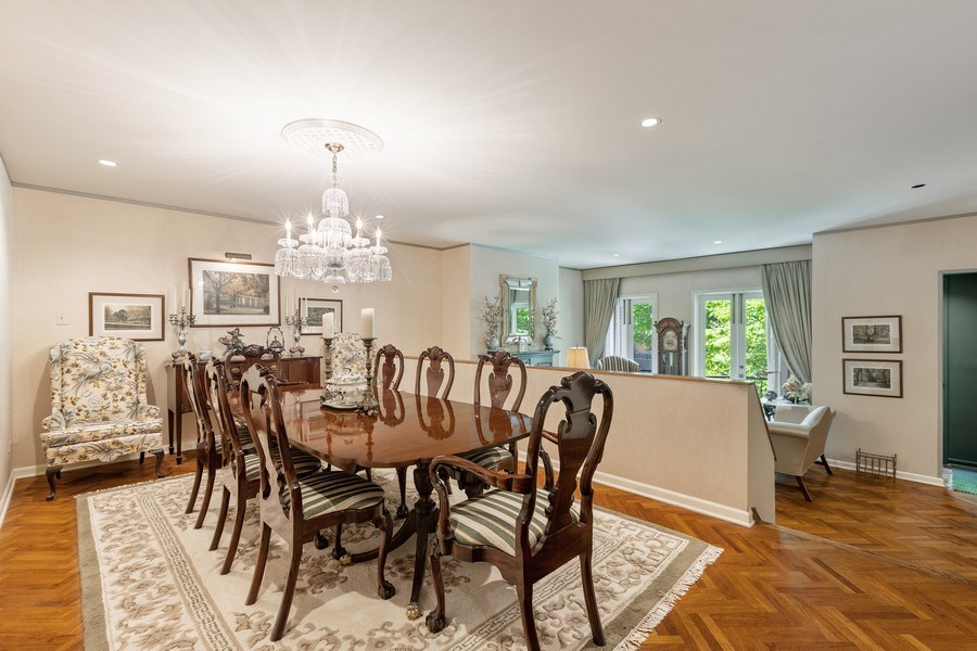 Real Estate Photography - 1307 North Sutton Pl, Chicago, IL, 60610 - Dining Room