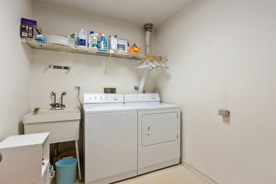 Real Estate Photography - 1307 North Sutton Pl, Chicago, IL, 60610 - Laundry Room