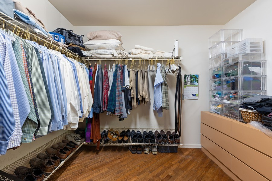 Real Estate Photography - 1307 North Sutton Pl, Chicago, IL, 60610 - Master Bedroom Closet