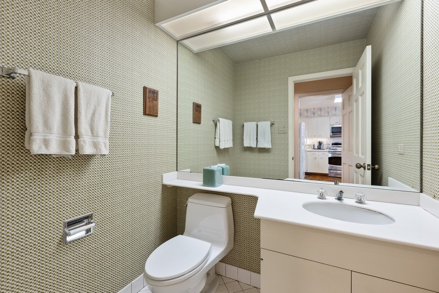 Real Estate Photography - 1307 North Sutton Pl, Chicago, IL, 60610 - Powder Room