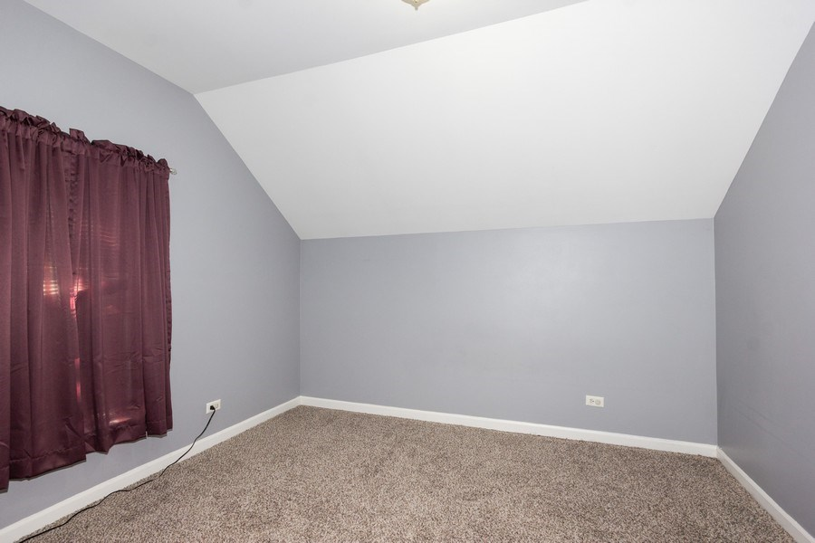 Real Estate Photography - 129 N. Lincoln Avenue, Aurora, IL, 60505 - 2nd Bedroom