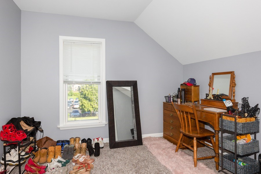 Real Estate Photography - 129 N. Lincoln Avenue, Aurora, IL, 60505 - 3rd Bedroom
