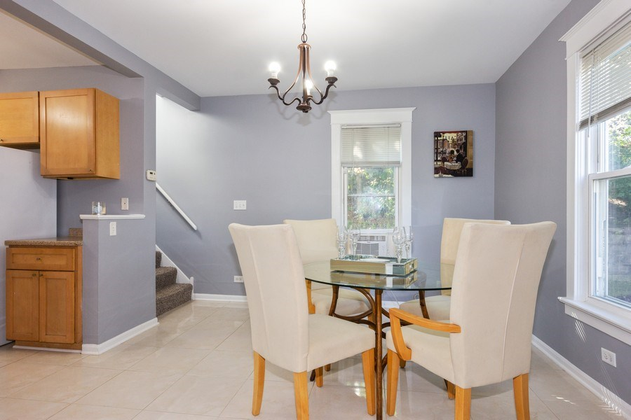 Real Estate Photography - 129 N. Lincoln Avenue, Aurora, IL, 60505 - Dining Room