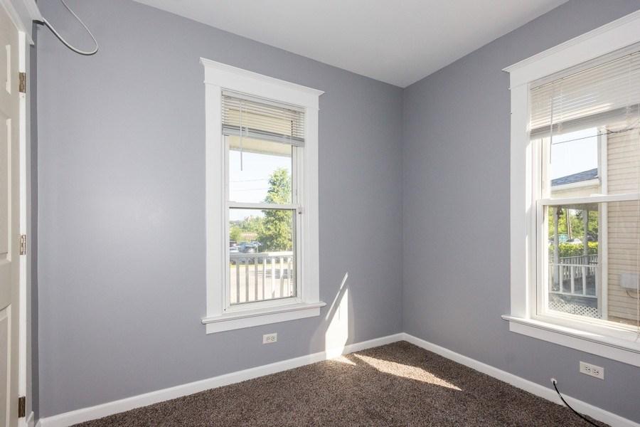 Real Estate Photography - 129 N. Lincoln Avenue, Aurora, IL, 60505 - Den