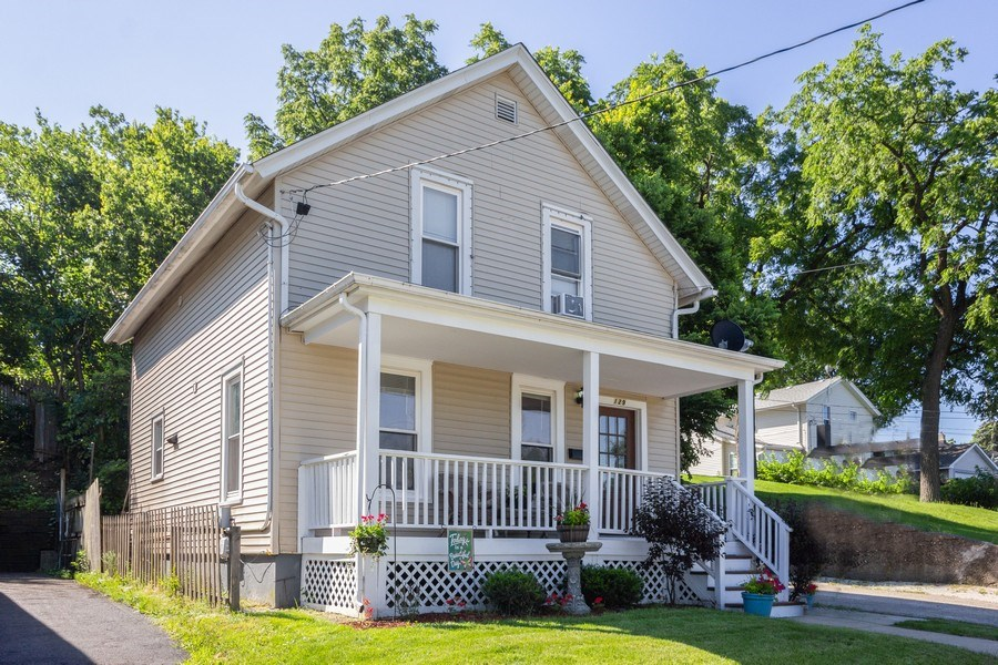 Real Estate Photography - 129 N. Lincoln Avenue, Aurora, IL, 60505 - Front View