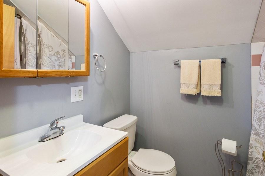 Real Estate Photography - 129 N. Lincoln Avenue, Aurora, IL, 60505 - Bathroom