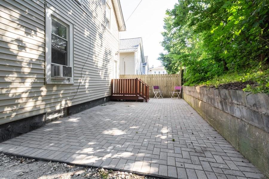 Real Estate Photography - 129 N. Lincoln Avenue, Aurora, IL, 60505 - Patio