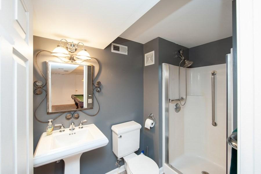 Real Estate Photography - 28812 W. Park Drive, Barrington, IL, 60010 - 3rd Bathroom