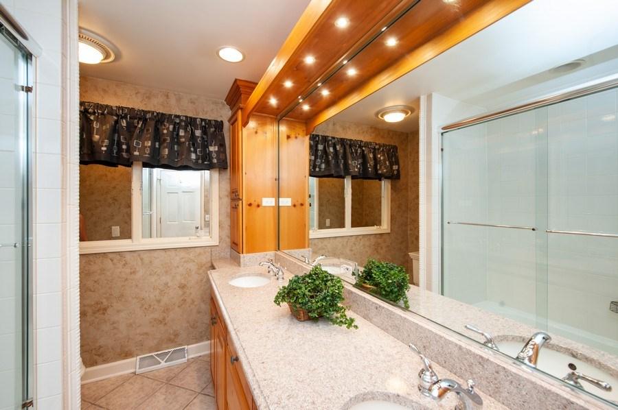 Real Estate Photography - 28812 W. Park Drive, Barrington, IL, 60010 - Master Bathroom
