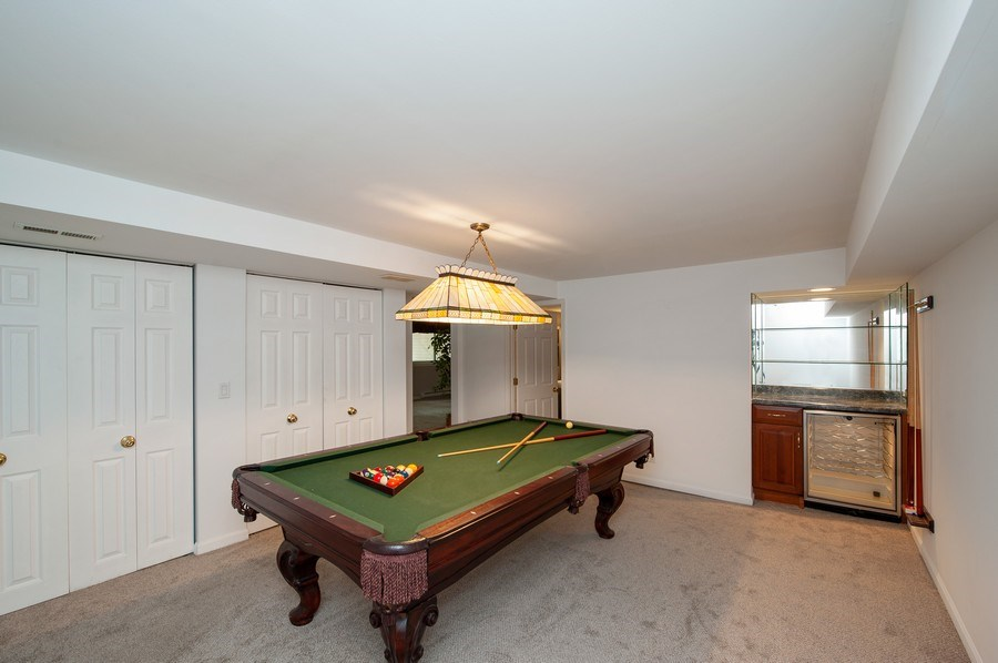 Real Estate Photography - 28812 W. Park Drive, Barrington, IL, 60010 - Recreational Room