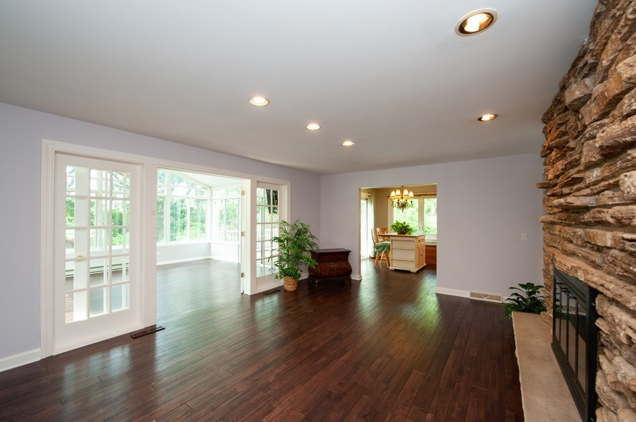 Real Estate Photography - 28812 W. Park Drive, Barrington, IL, 60010 - Family Room