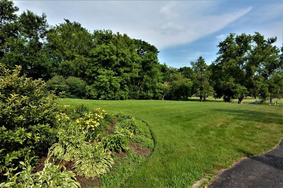 Real Estate Photography - 28812 W. Park Drive, Barrington, IL, 60010 - Vast front grounds