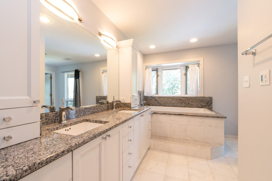 Real Estate Photography - 19641 Woodside Drive, New Lenox, IL, 60451 - Master Bathroom