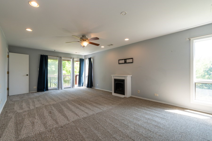 Real Estate Photography - 19641 Woodside Drive, New Lenox, IL, 60451 - Master Bedroom