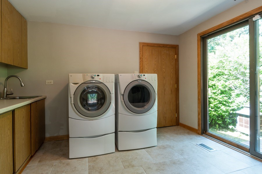 Real Estate Photography - 19641 Woodside Drive, New Lenox, IL, 60451 - Laundry Room