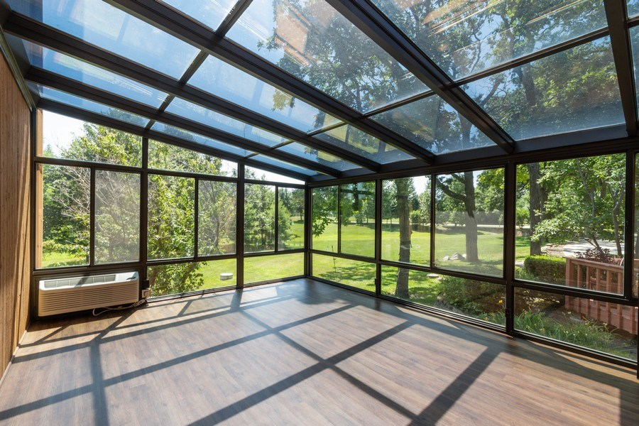 Real Estate Photography - 19641 Woodside Drive, New Lenox, IL, 60451 - Sun Room