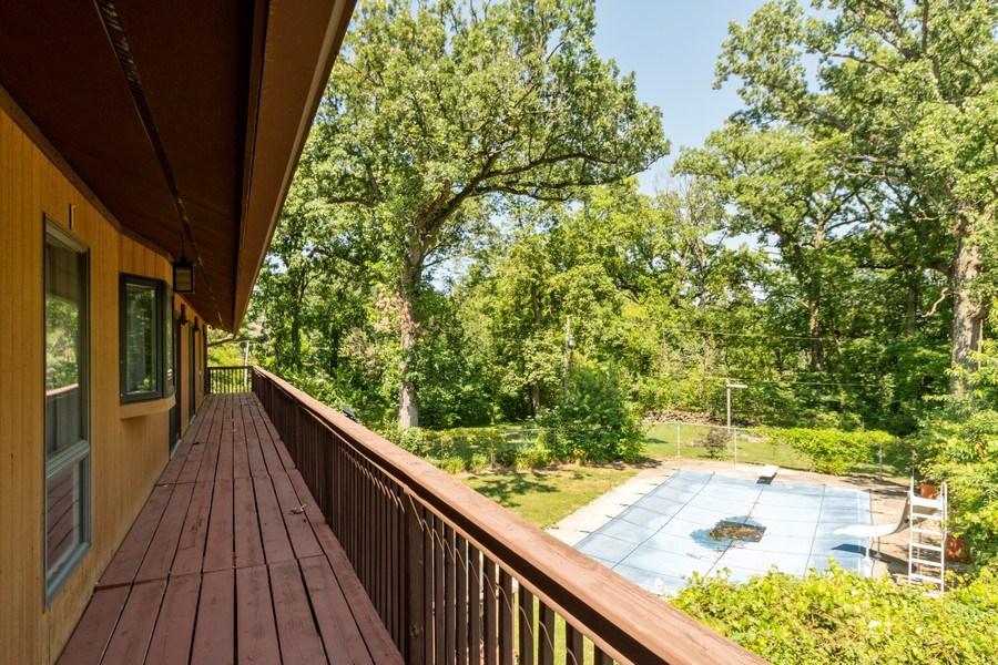 Real Estate Photography - 19641 Woodside Drive, New Lenox, IL, 60451 - Balcony