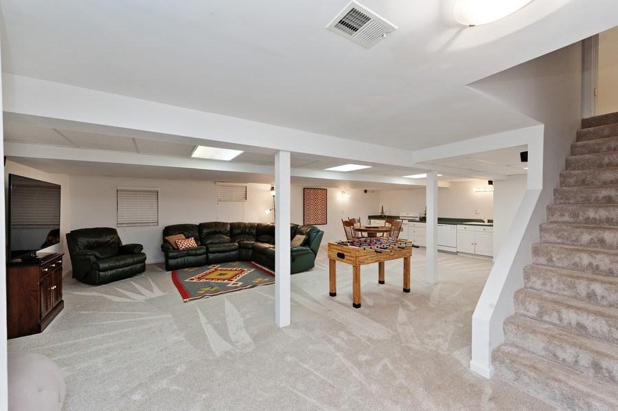 Real Estate Photography - 1141 Oak Ridge Circle, Barrington, IL, 60010 - Basement