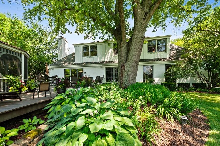 Real Estate Photography - 1141 Oak Ridge Circle, Barrington, IL, 60010 - Rear View