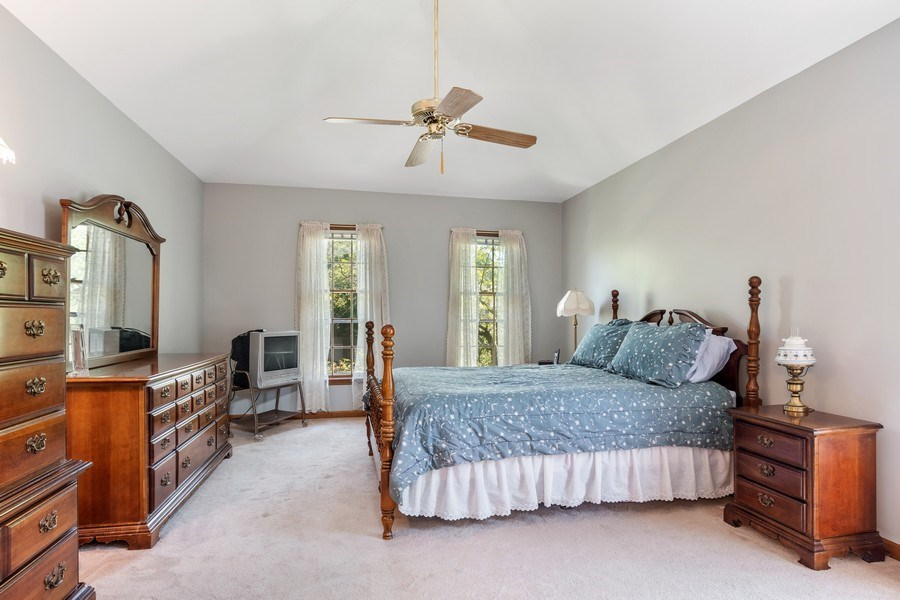 Real Estate Photography - 2345 Keim Road, Naperville, IL, 60565 - Master Bedroom