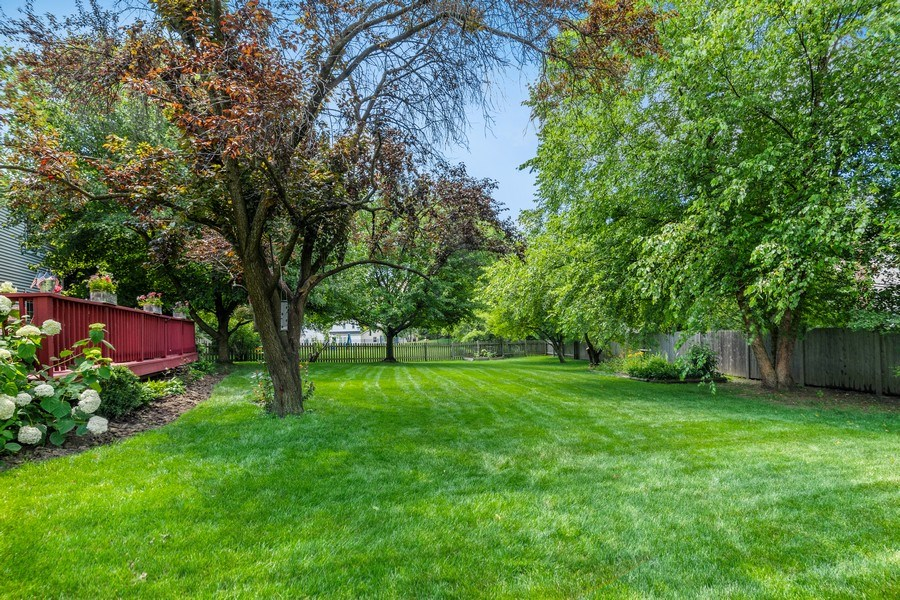 Real Estate Photography - 2345 Keim Road, Naperville, IL, 60565 - Back Yard