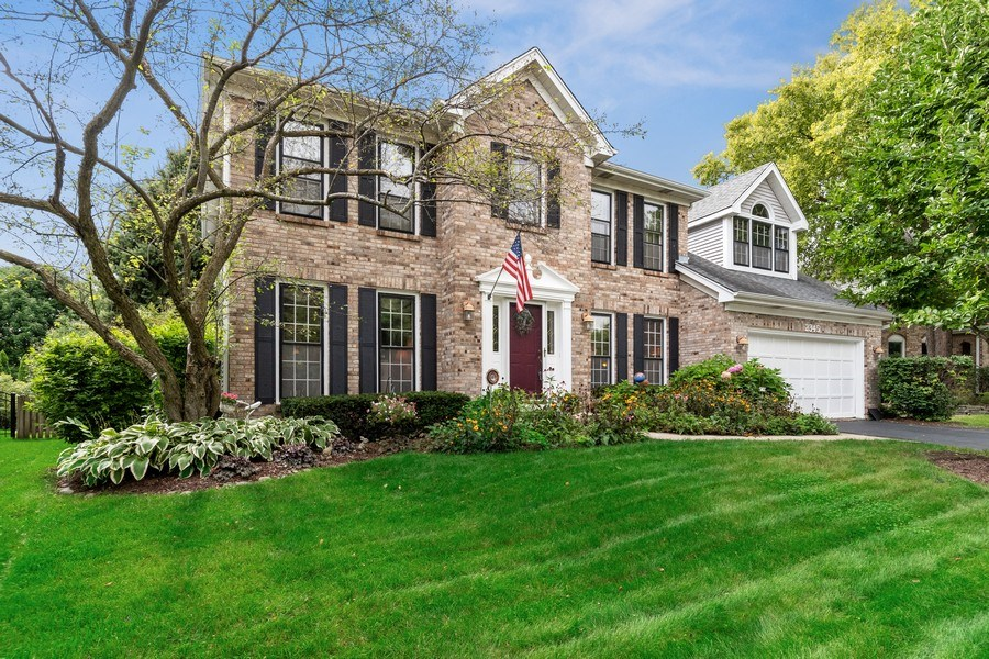 Real Estate Photography - 2345 Keim Road, Naperville, IL, 60565 - Front View