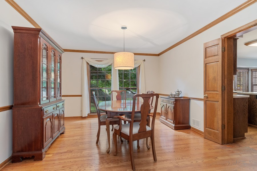 Real Estate Photography - 2345 Keim Road, Naperville, IL, 60565 - Dining Room