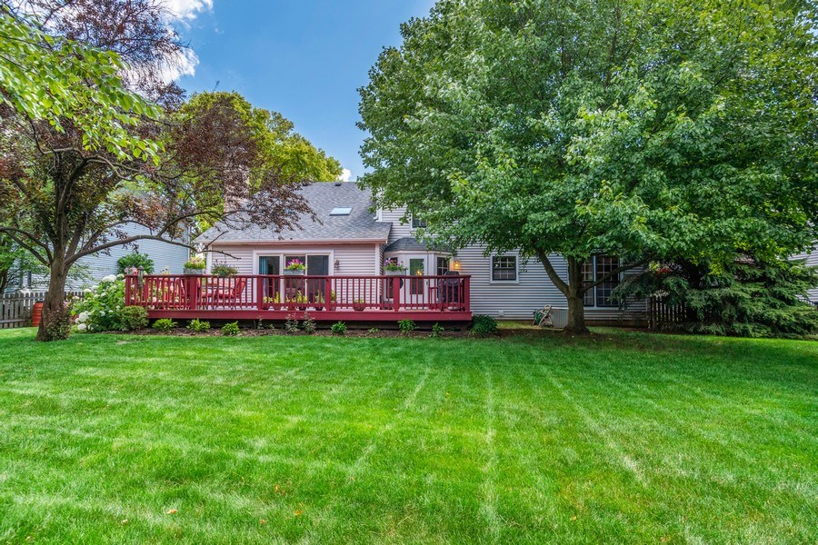 Real Estate Photography - 2345 Keim Road, Naperville, IL, 60565 - Rear View