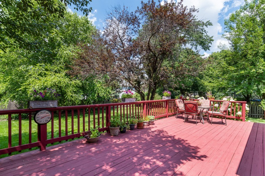 Real Estate Photography - 2345 Keim Road, Naperville, IL, 60565 - Deck