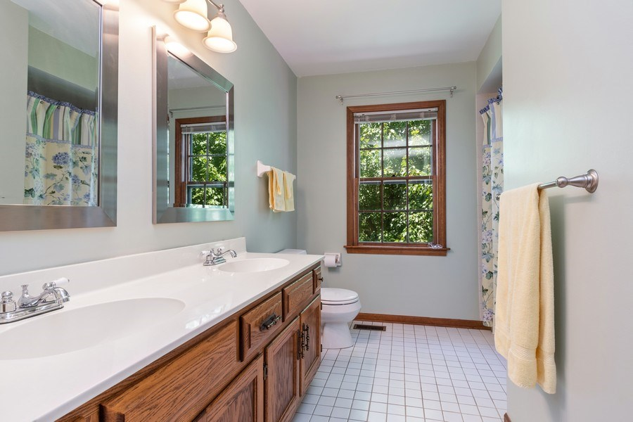 Real Estate Photography - 2345 Keim Road, Naperville, IL, 60565 - 2nd Bathroom