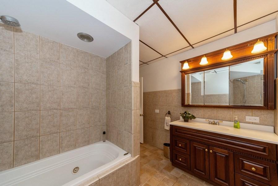Real Estate Photography - 5833 W. Berenice Avenue, Chicago, IL, 60634 - Master Bathroom