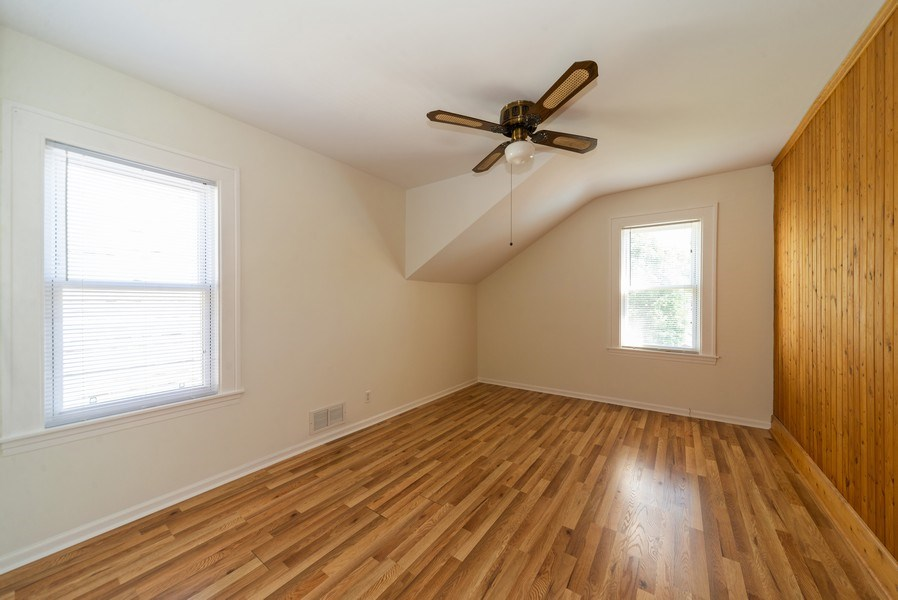 Real Estate Photography - 5833 W. Berenice Avenue, Chicago, IL, 60634 - 3rd Bedroom