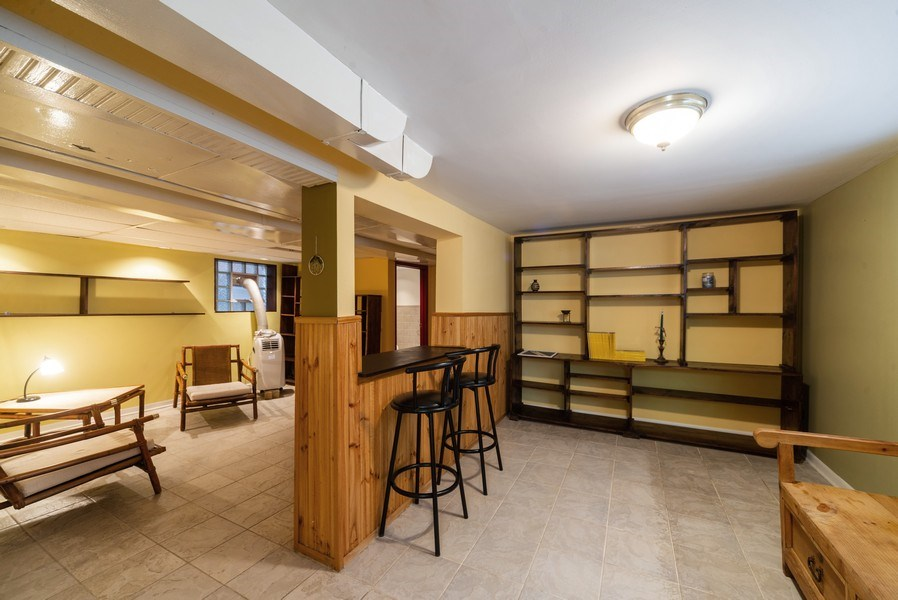 Real Estate Photography - 5833 W. Berenice Avenue, Chicago, IL, 60634 - Lower Level