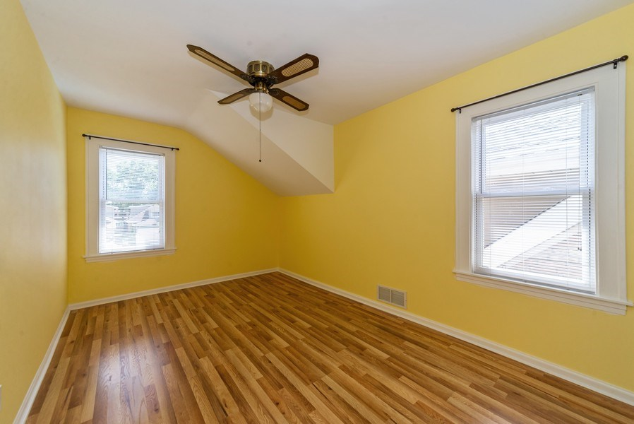 Real Estate Photography - 5833 W. Berenice Avenue, Chicago, IL, 60634 - Bedroom