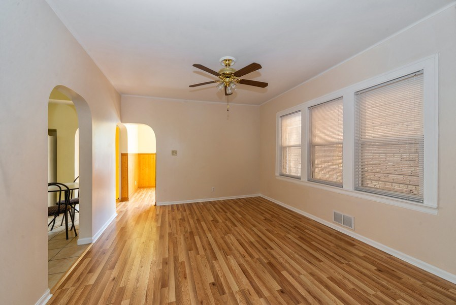 Real Estate Photography - 5833 W. Berenice Avenue, Chicago, IL, 60634 - Dining Room