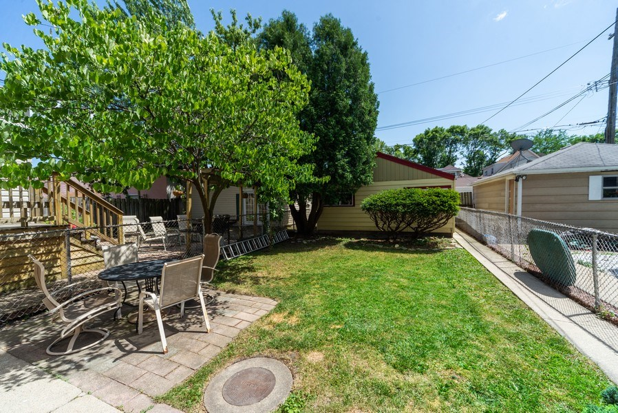 Real Estate Photography - 5833 W. Berenice Avenue, Chicago, IL, 60634 - Back Yard