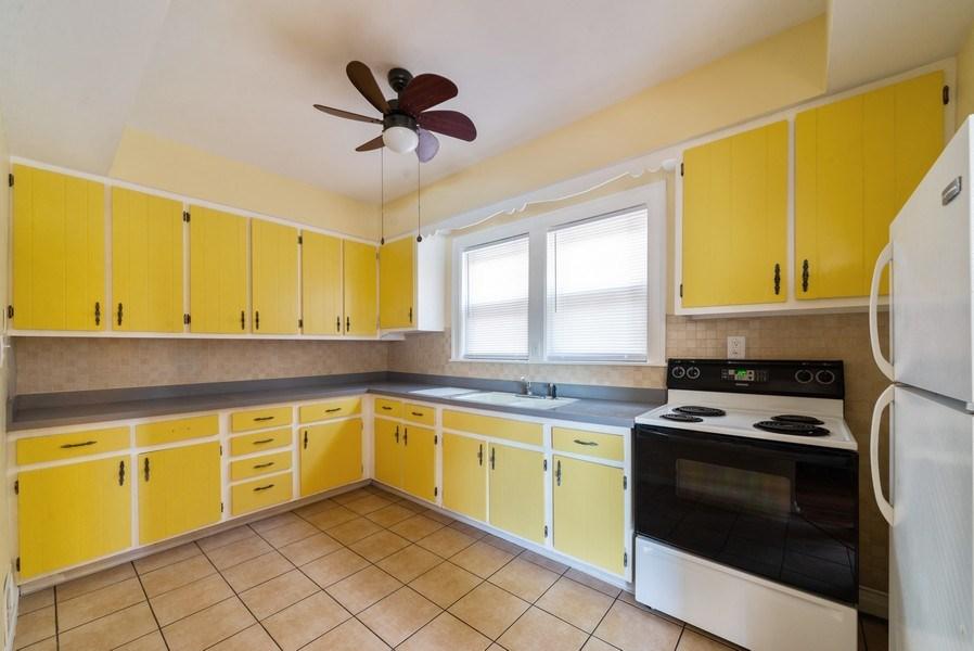 Real Estate Photography - 5833 W. Berenice Avenue, Chicago, IL, 60634 - Kitchen