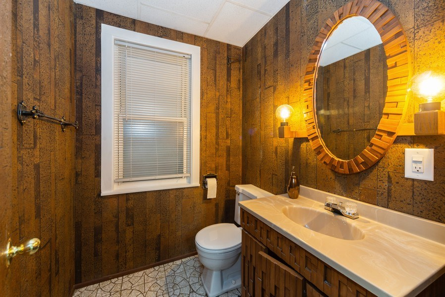 Real Estate Photography - 5833 W. Berenice Avenue, Chicago, IL, 60634 - Bathroom